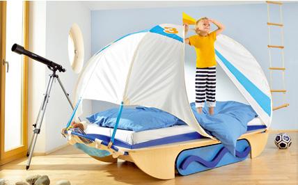 camas en habitaciones infantiles
