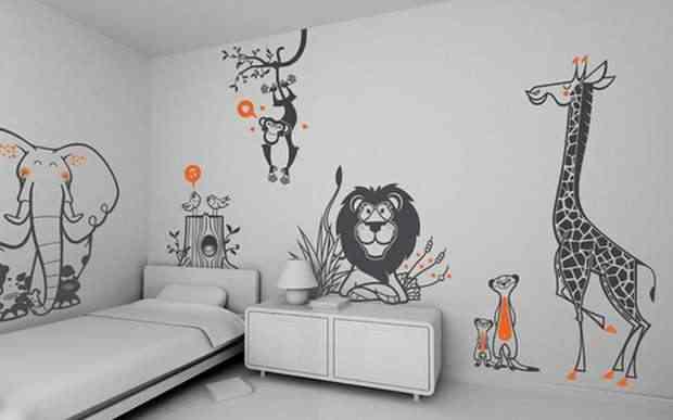 papel pintado zoo