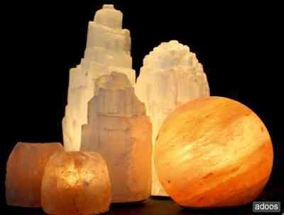 Lampes au sel