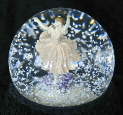 C mo hacer bolas de nieve para decorar for Bolas de cristal decorativas