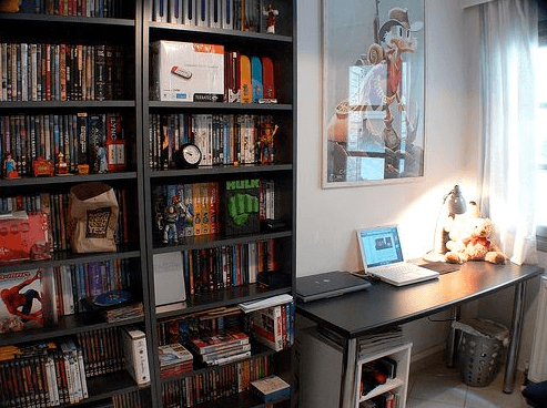 Sugerencias para crear una oficina en casa o espacios - Decoracion despachos en casa ...