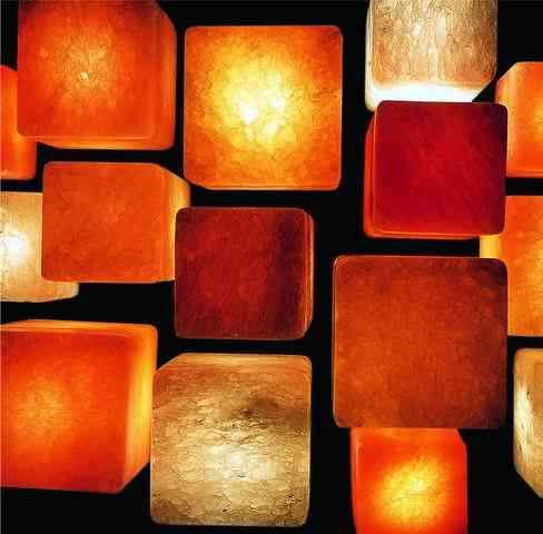 Sal de rocas - Lámparas de Sal