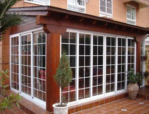 Porches de madera for Ideas para porches