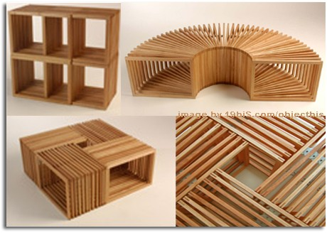Estructura de madera multifuncional