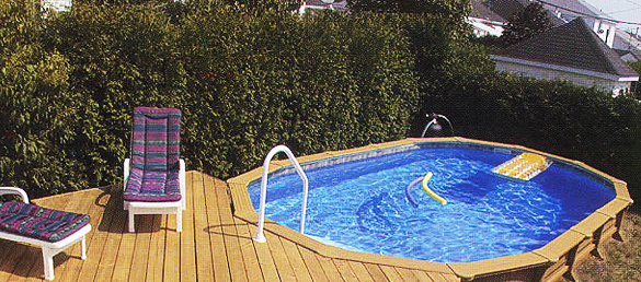 Piscinas super baratas soluciones super hermosas for Piscina estructural intex