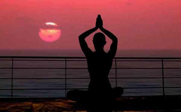 lampes de sel de yoga