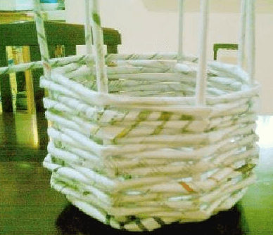 cesta de canutillos