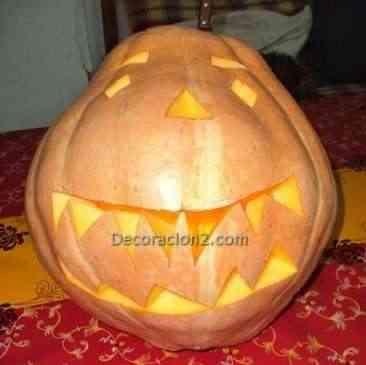Manualidad calabaza Halloween