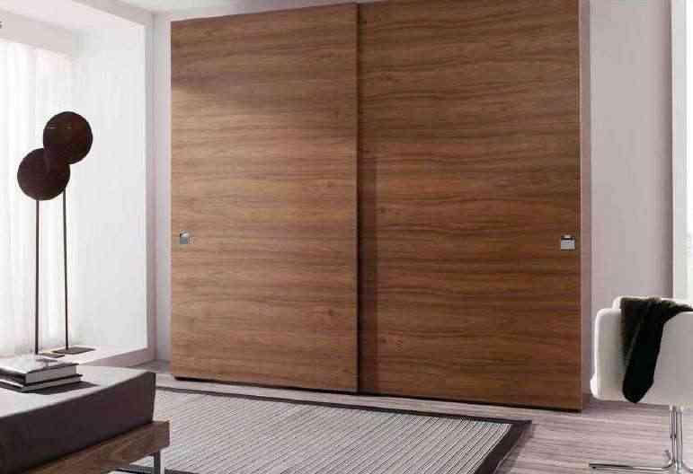 armario moderno de madera