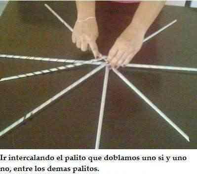 Empezar una cesta de canutillos de papel