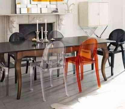 conjunto sillas modernistas