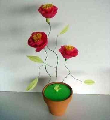 Flores De Papel China. Flores+de+papel+crepe