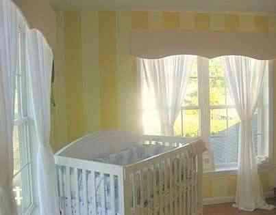 Paredes a rayas o rayas con paredes - Dormitorios pintados a rayas ...
