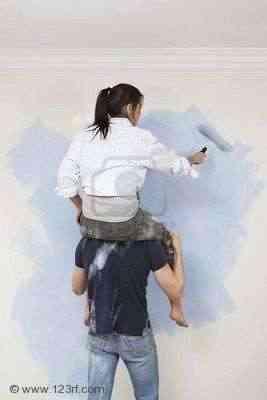 Como pintar una pared consejos - Pasos para pintar una pared ...