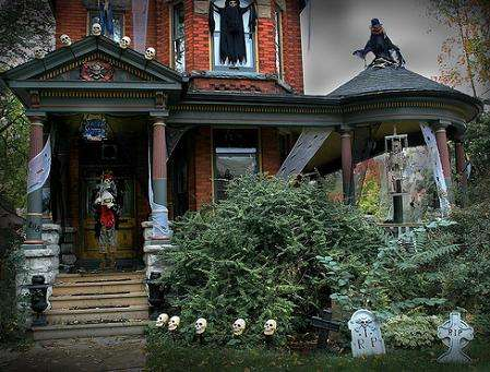 Especial Halloween Casas de miedo