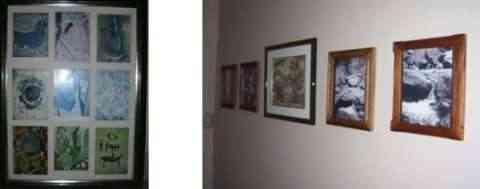 Recolocar cuadros para redecorar