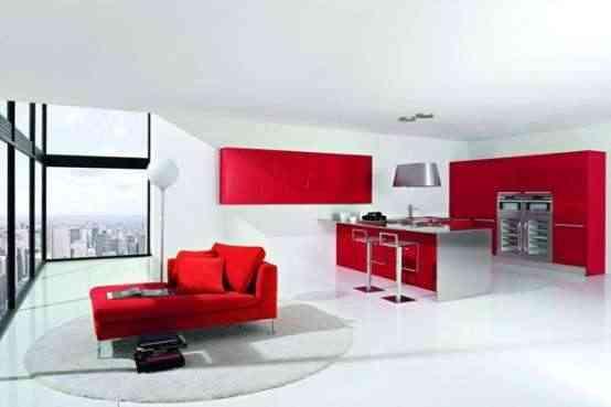 decoracin moderna de cocinas - Decoracion Moderna