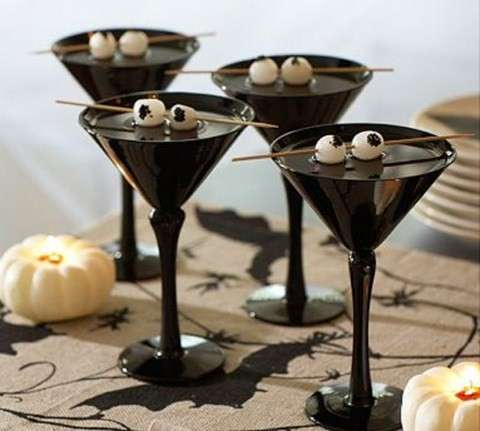 Copas terroríficas para Halloween