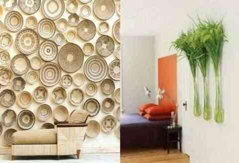 Decorar paredes de forma vanguardista