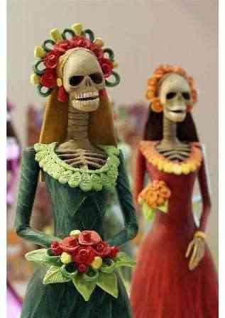 Día de los muertos. Muñeca