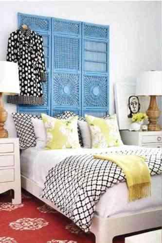 Dormitorio con diferentes colores