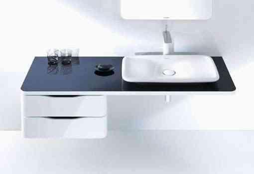 lavabo-y-mueble-negro-pura-vida-duravit