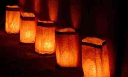 Luminarias para Halloween