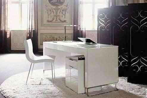 La oficina en casa for Muebles oficina minimalista