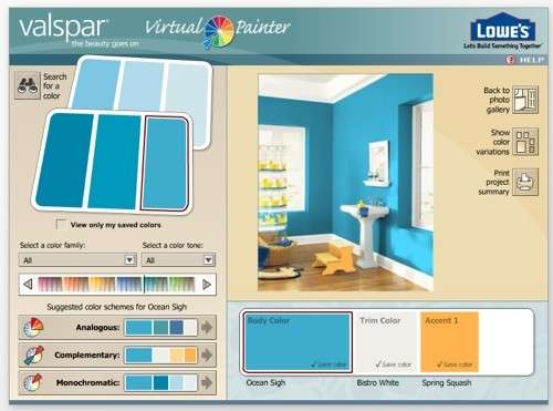 Decoradores virtuales i elige el color de tu pared for Programa de decoracion de interiores online