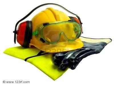 2817634-guantes-chaleco-luminoso-duro-de-o-do-defensores-de-sombrero-y-gafas-aisladas-en-blanco