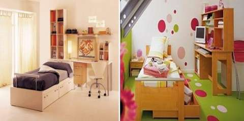 Mobiliario de cuartos infantiles
