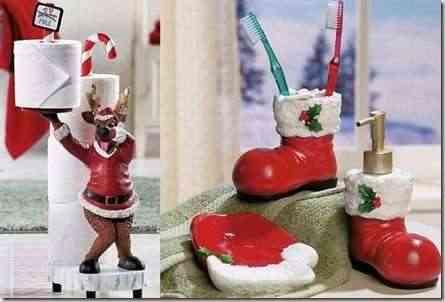 decorar baño en navidad-3