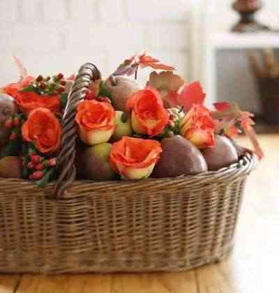 estilo wabi-sabi con flores