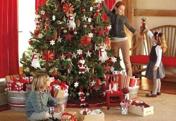 nios decoracion navidea