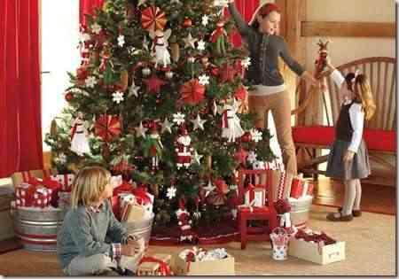 niños decoracion navideña-8