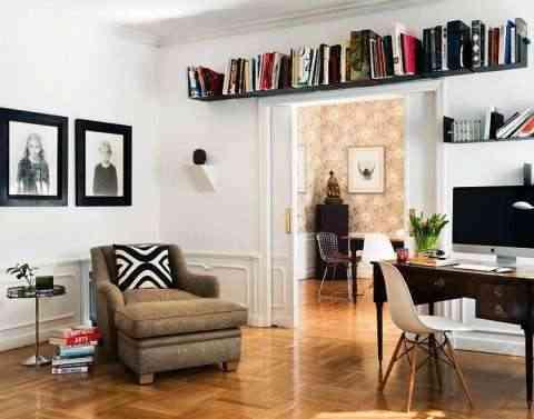 espacio extra para los libros
