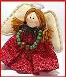 realizacin de un hermoso angel que podemos usar para decorar los rincones que nos falta tambin podemos regalarlos o ponerlos en el rbol de navidad