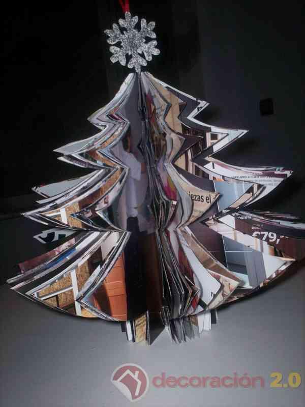 arbol de Navidad Ikea decorado