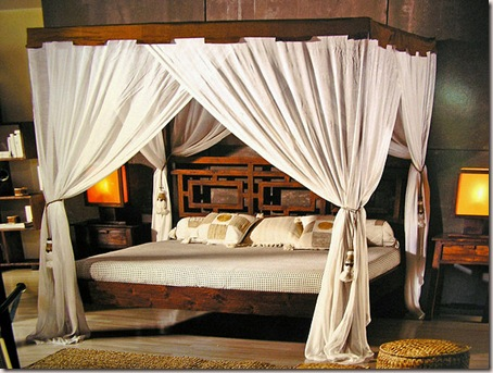 camas con doseles