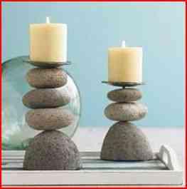 candelabro de rocas