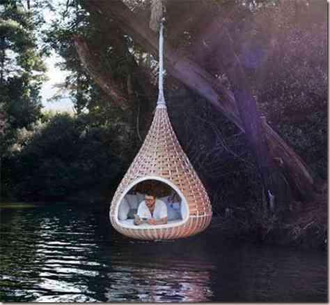 hammocks in the decoration -10