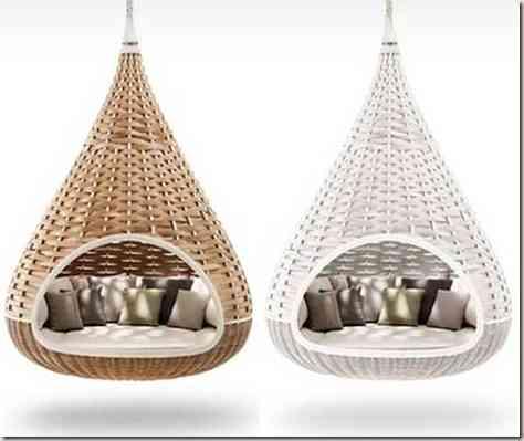 hammocks in the decoration -11