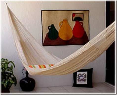hammocks in the decoration -2
