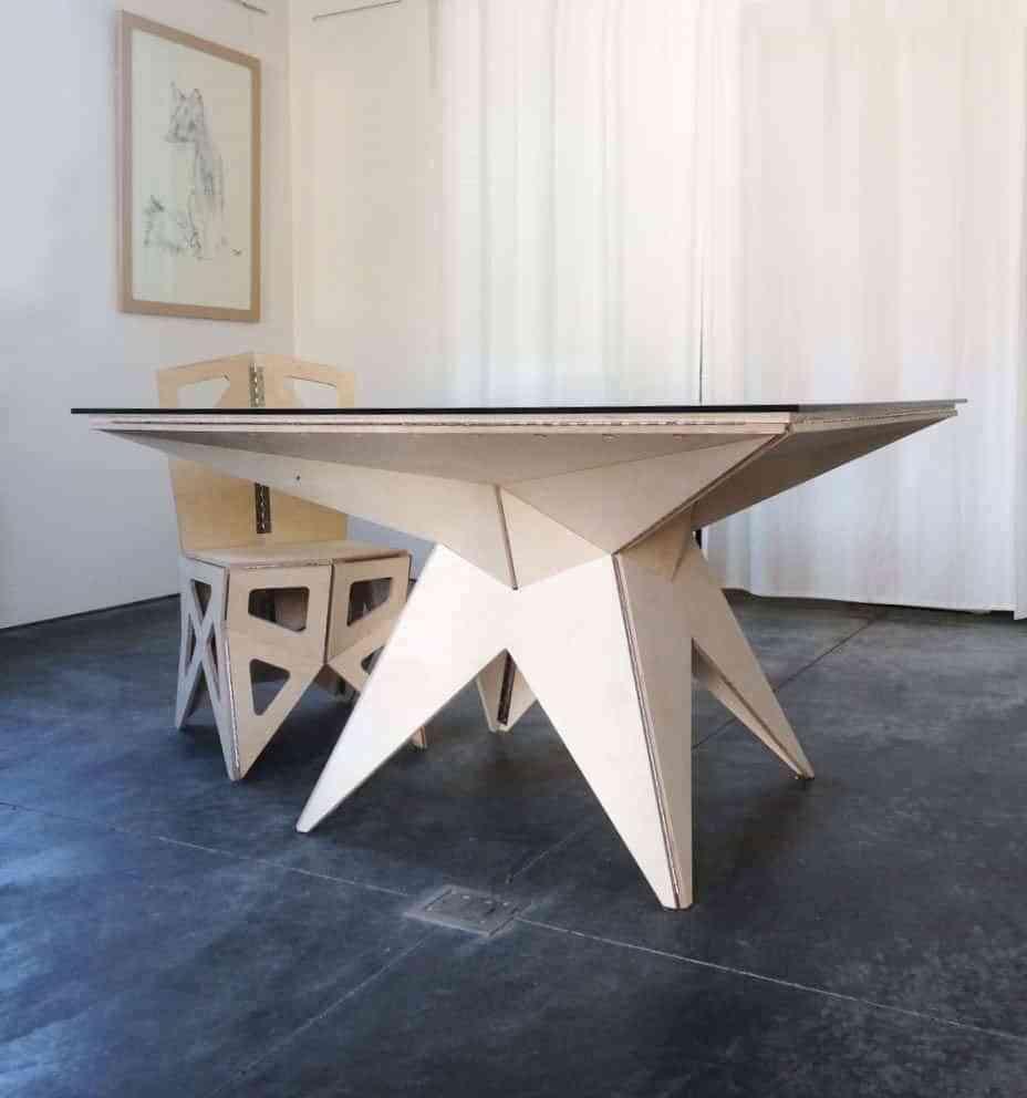 origami los muebles originales con estilo de papel o