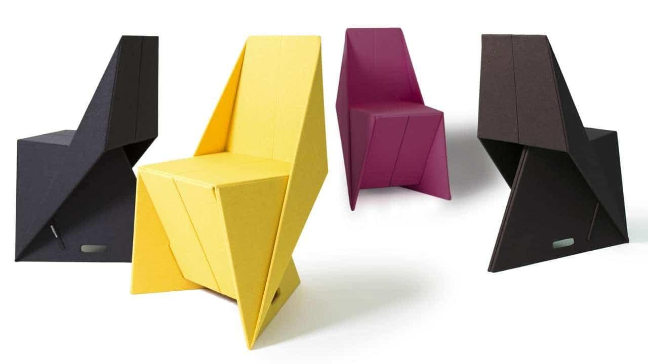 Origami los muebles originales con estilo de papel o - Muebles de papel ...