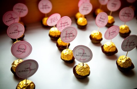 cards in chocolates