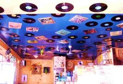 decoracion de techos con telas