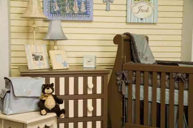 habitación infantil retro