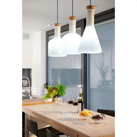 Luminarias cocina cocina lmparas colgantes lamparas de - Luminarias para cocinas ...