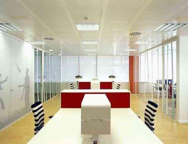 decoracin oficinas modernas